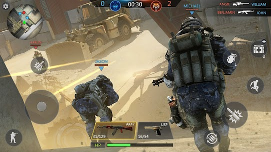 FPS Online Strike – Multiplayer PVP Shooter Mod Apk 1.1.40 3