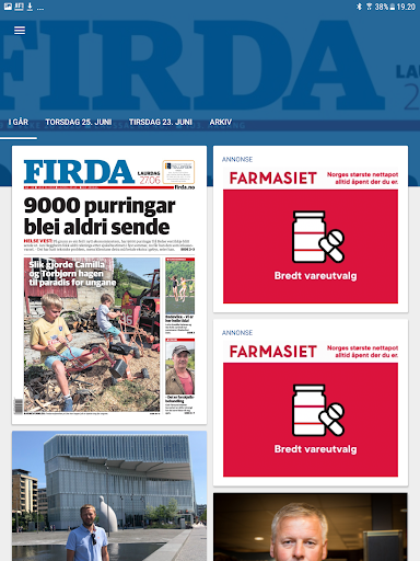 Firda eAvis 8.0.9 screenshots 6