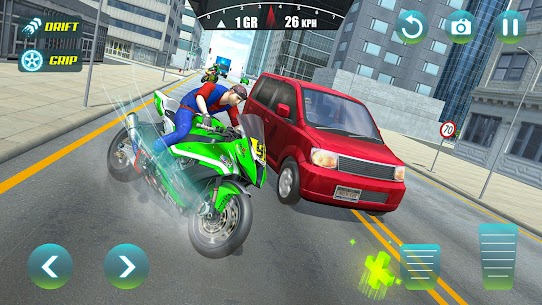 City Bike Driving Simulator-Real Motorcycle Driver 10