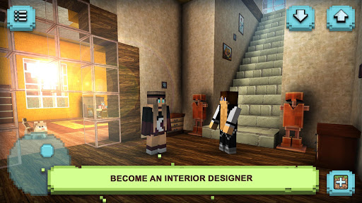 Dream House Craft: Design & Block Building Games 1.16-minApi23 Screenshots 1