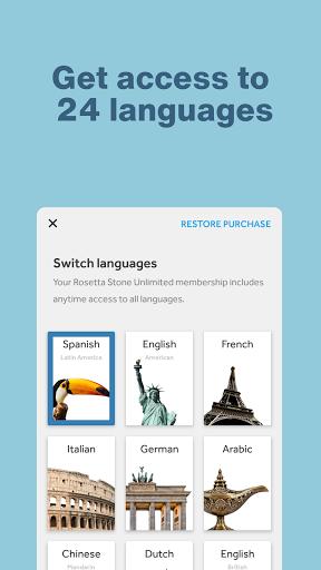 Rosetta Stone: Learn, Practice & Speak Languages 8.5.0 screenshots 2