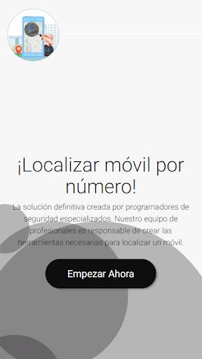 Localizar Movil por Numero  Screenshots 1