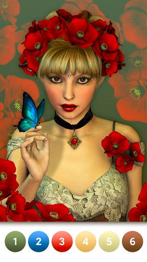 Coloring Magic: Paint by Number Free Art Games apktram screenshots 17