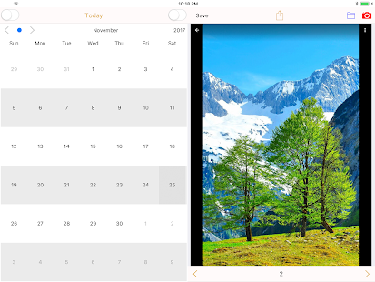 PhotoCalendar - record life Screenshot