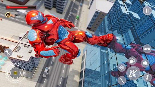 Flying Police Monster Robot Rope Hero: Crime City Mod Apk 1.5 (Unlimited Money) 6