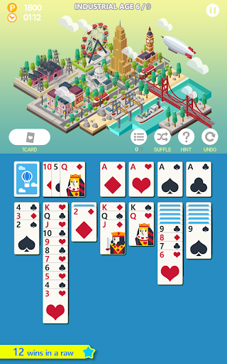Age of solitaire - Free Card Game 1.5.7 screenshots 1