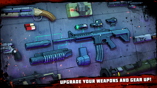 Zombie Conspiracy: Shooter MOD APK 1.670.0 (Free Purchase) 8