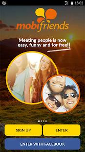 Mobifriends - Free dating screenshots 1