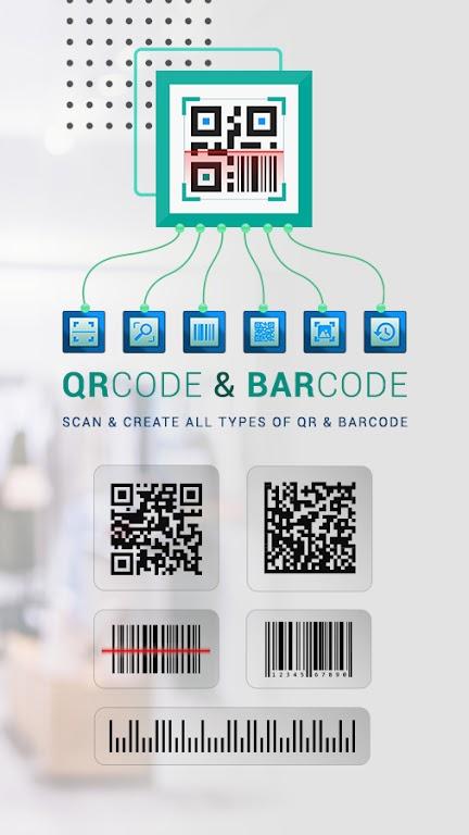 Free QR Code Reader & Barcode Scanner - QR Scanner poster 1