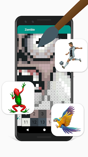 Pixies Pixel Art - Coloring book, Color by Number  screenshots 2