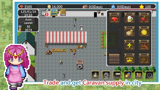Isekai Traveling Merchant - Single Role Play RPG 1.1.48 screenshots 5