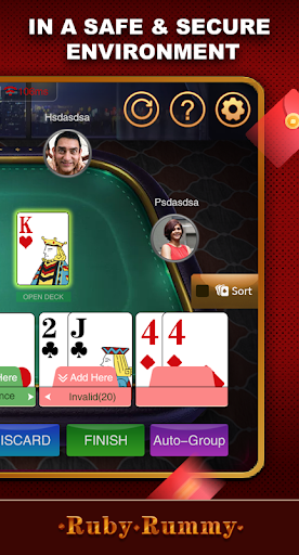 Ruby Rummy-Indian Online Free Card Game 1.0.5 Screenshots 5