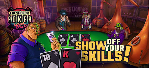 Fresh Deck Poker - Mafia World & Texas Holdem Gang  screenshots 1