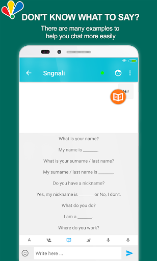 chat to learn english screenshot 3