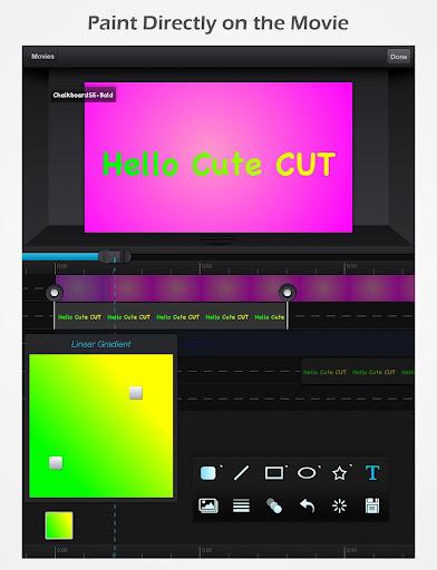 Cute CUT - Video Editor & Movie Maker  Screenshots 10