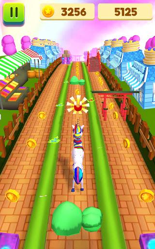 Unicorn Run - Fast & Endless Runner Games 2021  screenshots 1