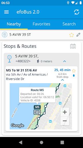 efoBus 2.0 - Transit on time 7.6.03-72 screenshots 2