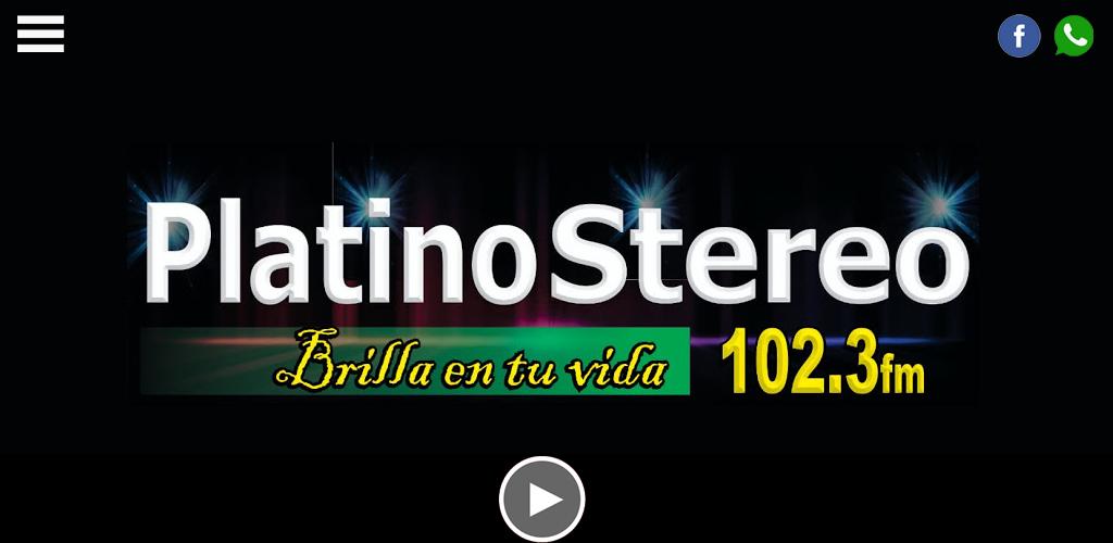 Platino Stereo screenshot 1