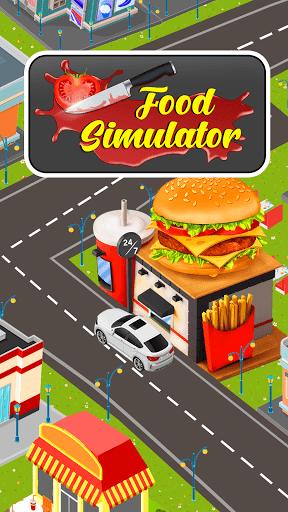 Food Simulator Drive Thru Cahsier 3d Cooking games screenshots 8