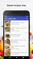 Salad recipes for free app offline with photo