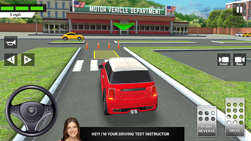 City Car Driving & Parking School Test Simulator 3.2 screenshots 1