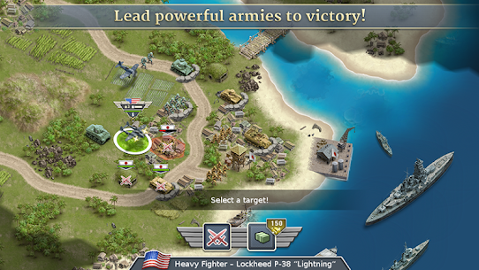 1942 Pacific Front – a WW2 Strategy Mod Apk (Unlimited Gold Coins) 2
