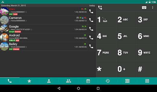 DW Contacts & Phone & SMS MOD APK (Unlocked) Download 10