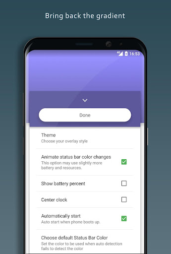 Material Status Bar  screenshots 3