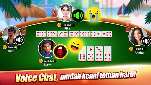 Domino : LUXY Domino & Poker - Gaple QiuQiu Remi 5.2.3.0 screenshots 8