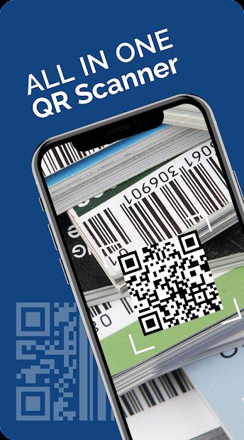 FREE QR Barcode Scanner: QR Scanner/QR Code Reader Android App Screenshot