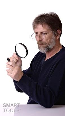 拡大鏡:Smart Magnifierのおすすめ画像2