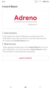 Instant Boost (Addon for Gamers GLTool) 2