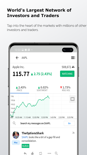 Stocktwits - Stock Market Chat android2mod screenshots 1
