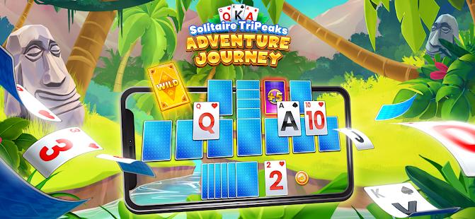 Solitaire Tripeaks: Adventure Journey 1.6.6 screenshots 1