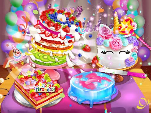 Birthday Cake Design Party - Bake, Decorate & Eat! 1.6 screenshots 5
