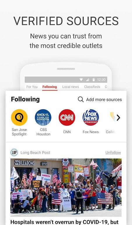 News Break: Local Breaking Stories & US Headlines  poster 2