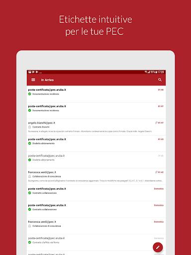 Aruba PEC Mobile apktram screenshots 8