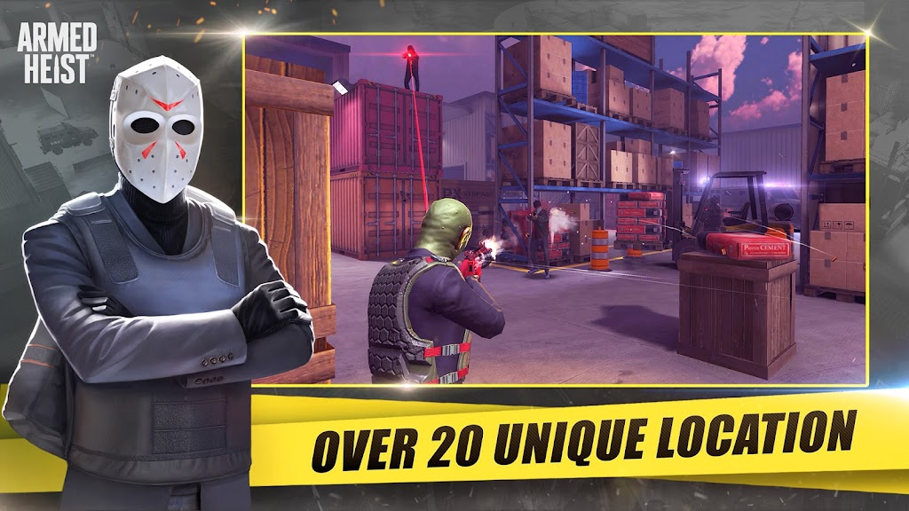 Armed Heist: TPS 3D Sniper shooting gun games  poster 11