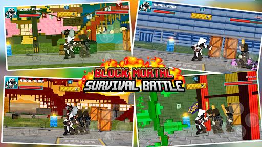 Block Mortal Survival Battle  screenshots 5