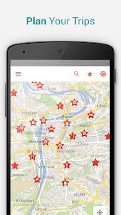 Prague Offline City Map