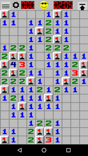 minesweeper screenshot 1