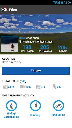 ramblr (hiking, gps, map) modavailable screenshots 3