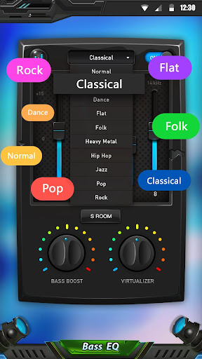 Equalizer & Bass Booster 1.6.7 Screenshots 2