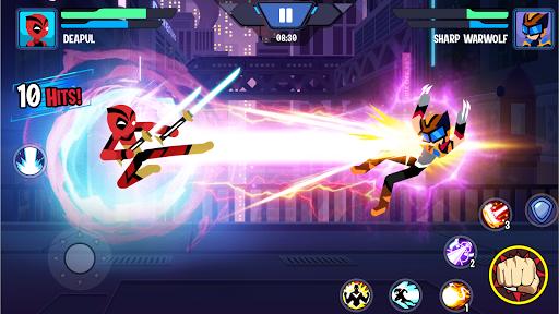 Stickman Heroes: Battle Of Warriors modiapk screenshots 1