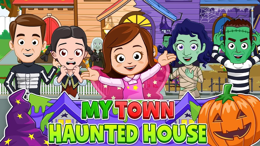 My Town : Haunted House Free Android App Screenshot