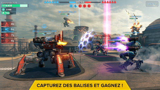 Code Triche War Robots. Batailles multijoueur tactiques 6v6 (Astuce) APK MOD screenshots 3