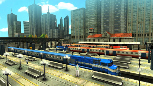train racing games 3d 2 player screenshot 3