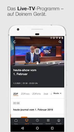 ZDFmediathek & Live TV  screenshots 2
