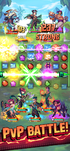 Puzzle Brawl - Match 3 RPG & PvP Battle Tactics 1.3.6 screenshots 1