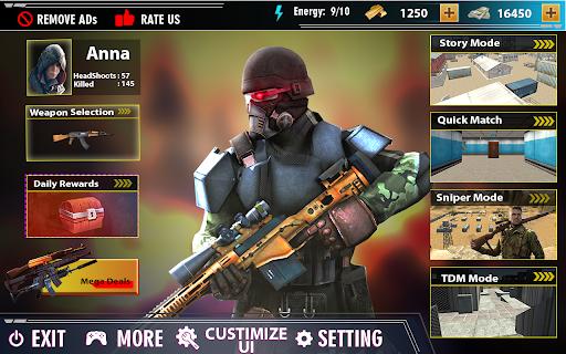 offline shooting game: free gun game 2021 Apkfinish screenshots 12